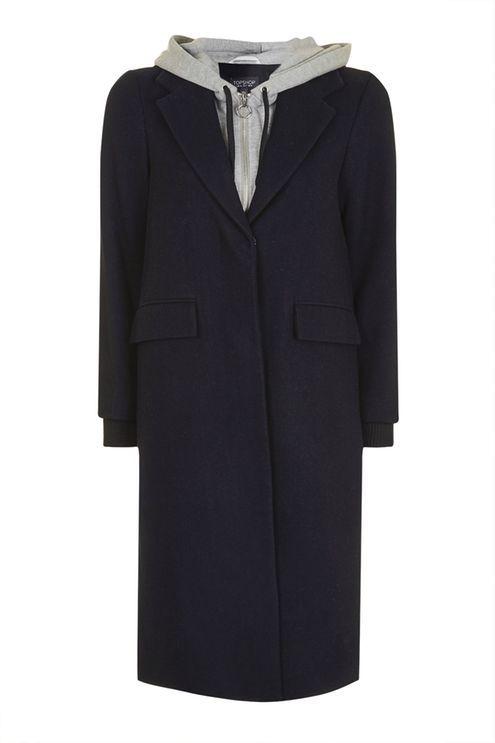 PETITE Hoodie Hybrid Coat £45