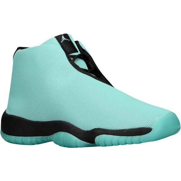 6a165642ef4d44 ... inexpensive turquoise black jordan aj future girls grade school 120  liked on polyvore featuring shoes af38d
