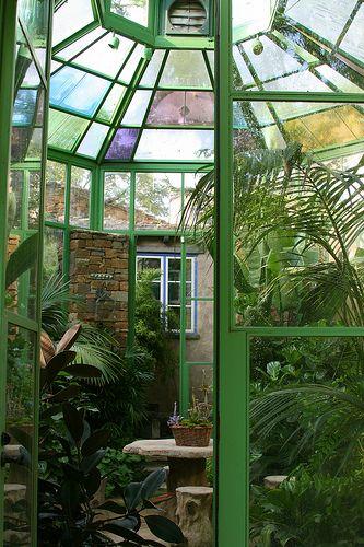 Greenhouse via floradoragardens #Greenhouse