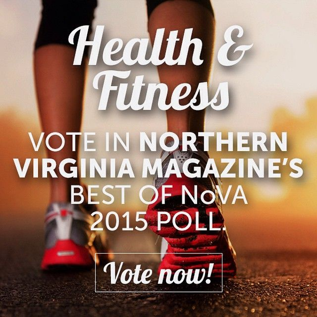 Know of a place that deserves some recognition in #HealthandFitness? | Let us know and cast your vote in our Best of NoVA polls today! | Link in profile #MedSpa #Blowout #MensHaircut #ManiPedi #WomensCut #WomensColor #Facial #BikiniWax #EyebrowShaping #EyebrowWax #Massage #Barre #CyclingStudio #YogaStudio