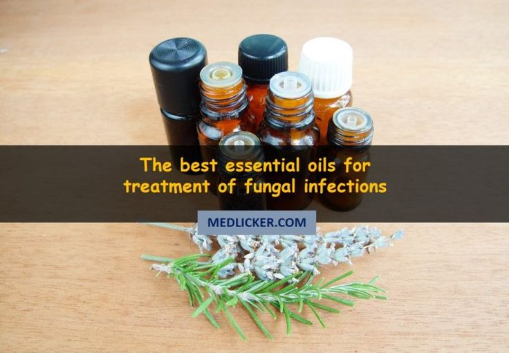 10 amazing essential oils to cure fungal infections