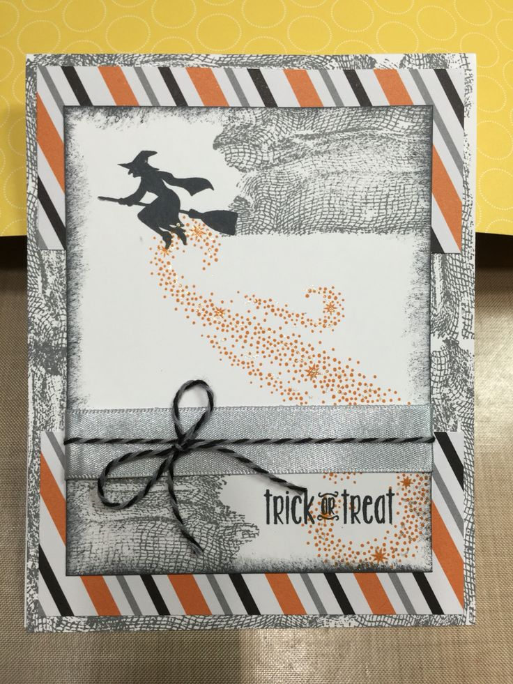787 best Cards - Halloween images on Pinterest | Autumn cards, Fall ...