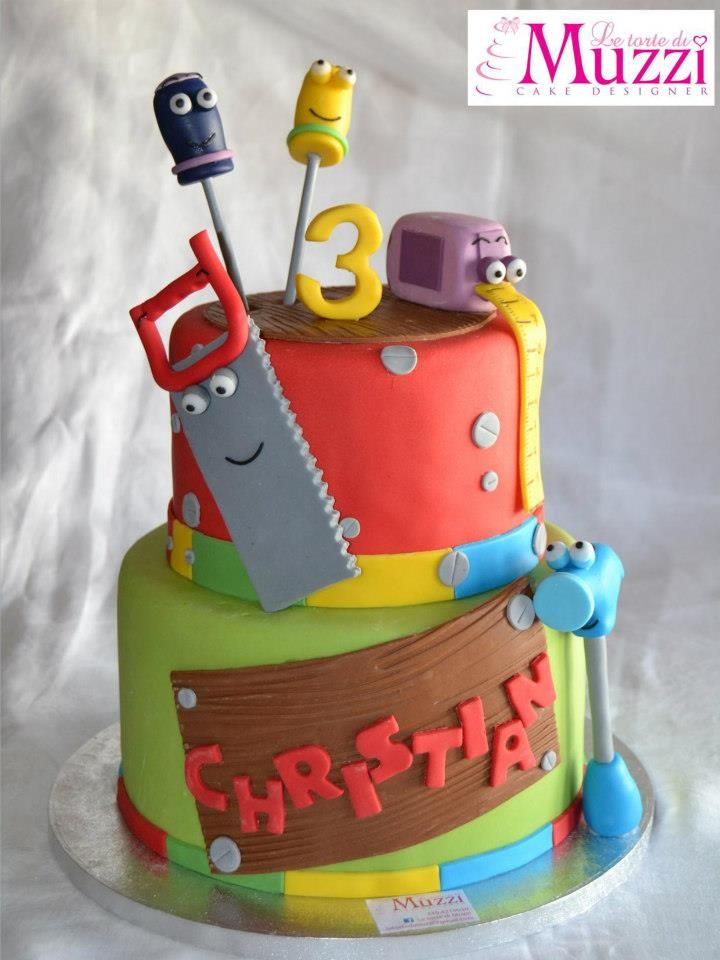 13 Best Tool Party Images On Pinterest Birthdays Construction