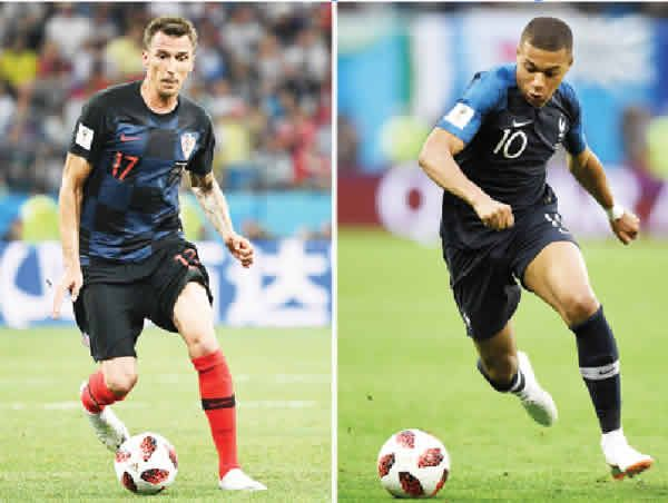 France Vs Croatia Vatreni Counts Down To Historic World Cup Final Excitement Reached Fever Pitch Levels In Croatia World Cup Final World Cup Mario Mandzukic