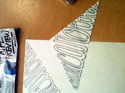 Splish Splash Splatter: Kaleidoscope Name Drawings