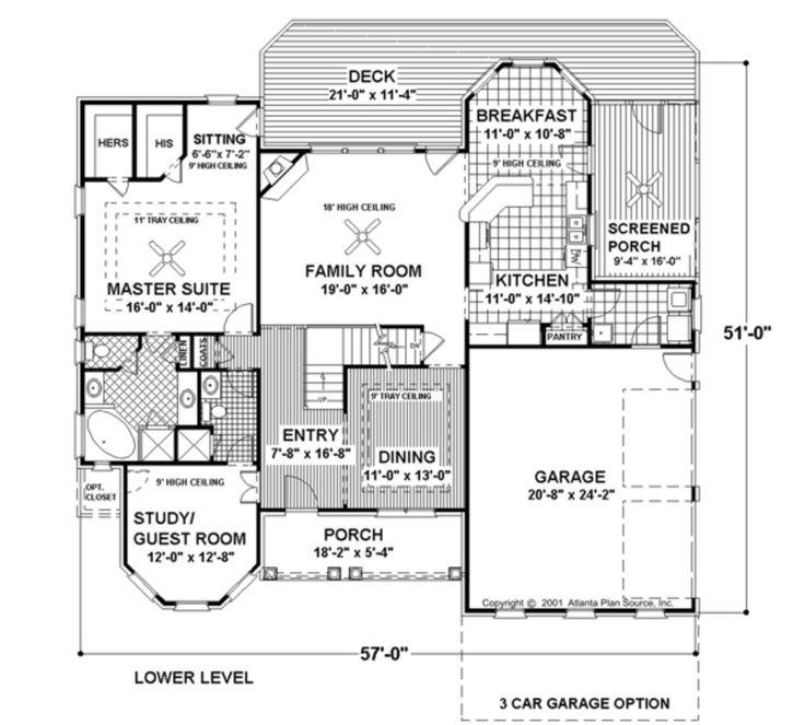 Best House Images On Pinterest House Floor Plans Dream