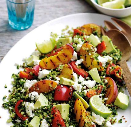 This salad combines some of the season's best fruit and veg into a tasty light lunch or an elegant starter for summer dining al fresco.