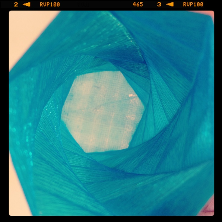 My 3dprint #vase from the inside #3dprinter