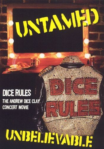 Andrew Dice Clay: Dice Rules [DVD] [1991]