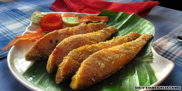 Best Indian seafood restaurants in Mumbai - Kane, the local ladyfish, fried-up and served at Fresh Catch -- a less well-known, but excellent home-style seafood …