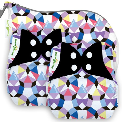 MommyCon Chicago - LIMITED EDITION Alicia 2 bumGenius 4.0 + 1 Outing Wet Bag - bumGenius - Cotton Babies Cloth Diaper Store