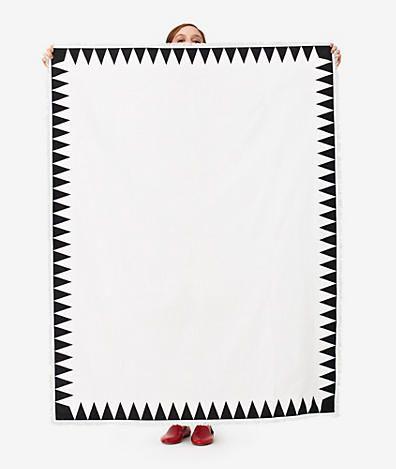 kate spade saturday screen printed tablecloth