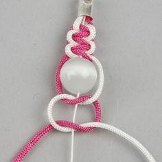 Bracelet macramé et perles