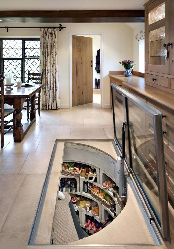 Kitchen Floor Wine Cellar Astonishing Original Wine Cellar With Rectangular Glass Trap Door Kitchen Fl Interior Design Kitchen Rustic House Design Secret Rooms