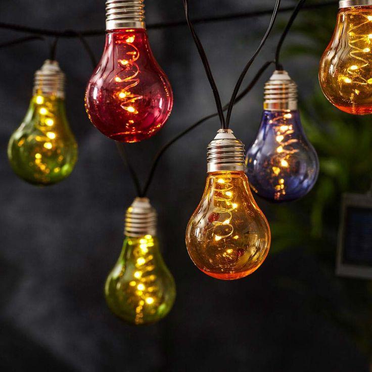 Premium LED Solar-Lichterkette 2m / Multicolor 52181
