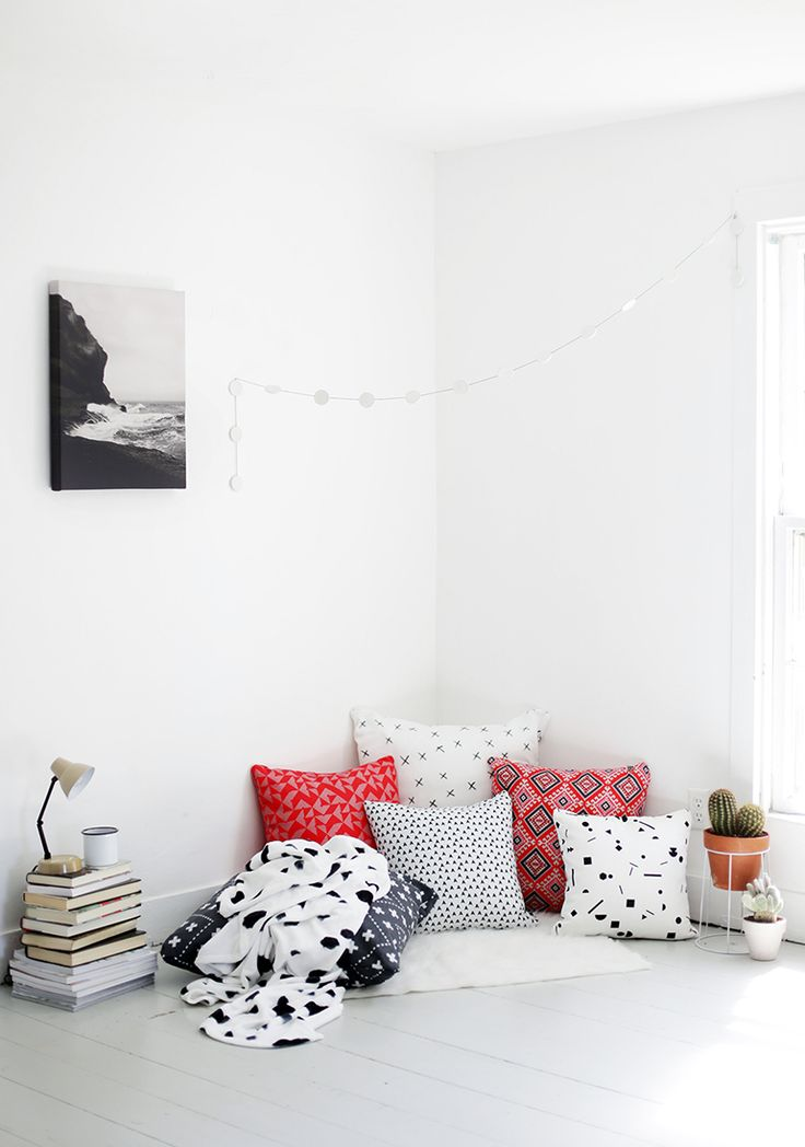Reading Nook // DENY Designs @themerrythought @denydesigns