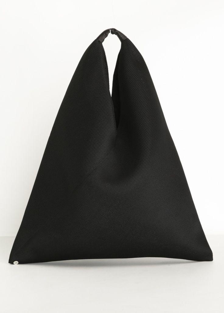 MM6 Maison Martin Margiela Crossover Hobo Bag (Black)
