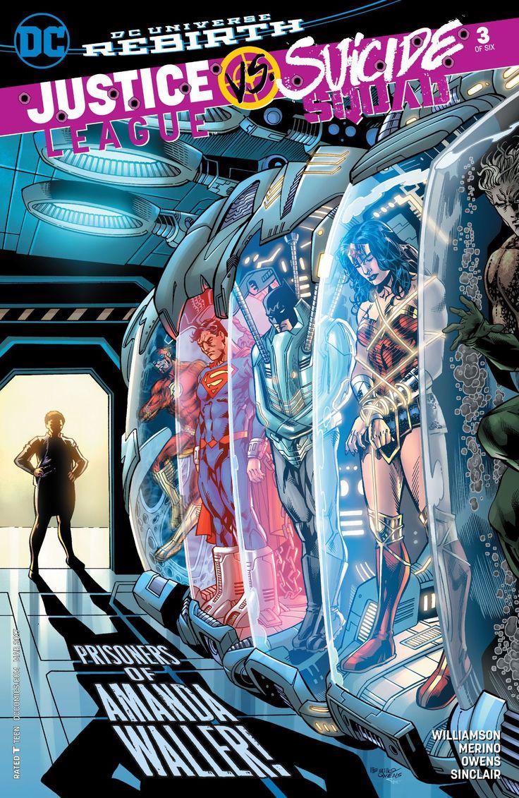 Justice League vs. Suicide Squad (2016-) #3