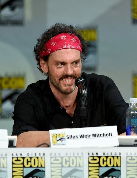 "Silas Weir Mitchell Photos: ""Grimm"" Season 4 Panel - Comic-Con International 2014"