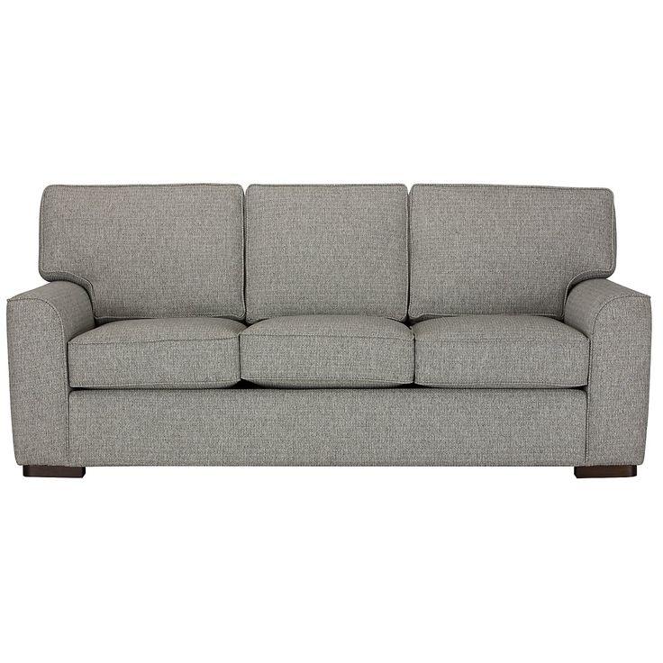 Austin Gray Fabric Sofa $600
