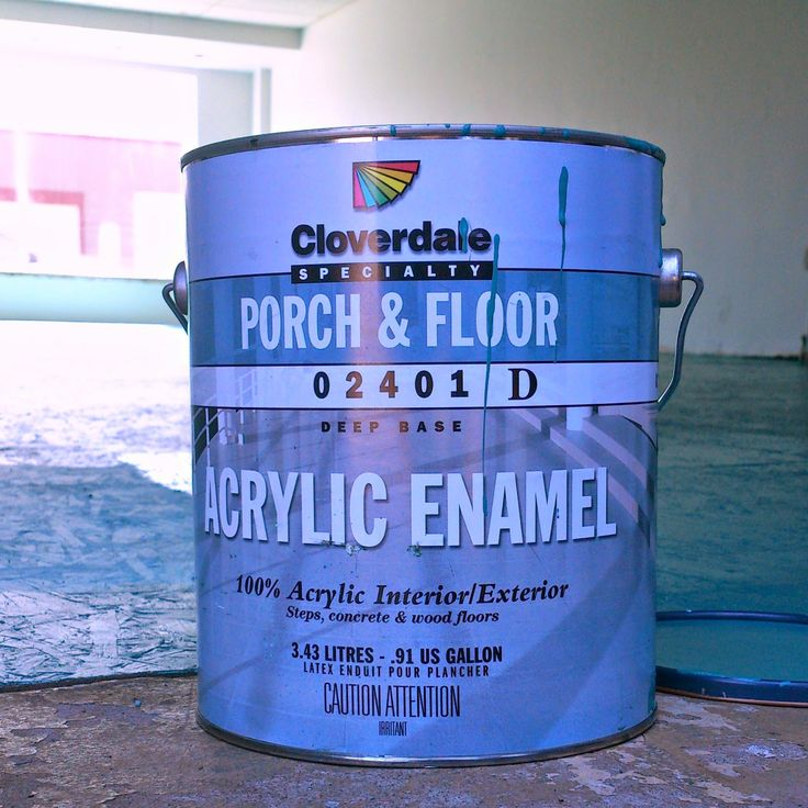 DIY Painted Particle Board Floor (Mmmm, Teal) | Dans le Lakehouse