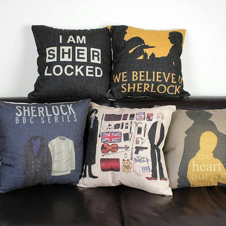 Cover Mug Quality Dvd Directly From China Motorbike Suppliers Sherlock Holmes Cushion Covers British Retro Style Office Linen Pillow