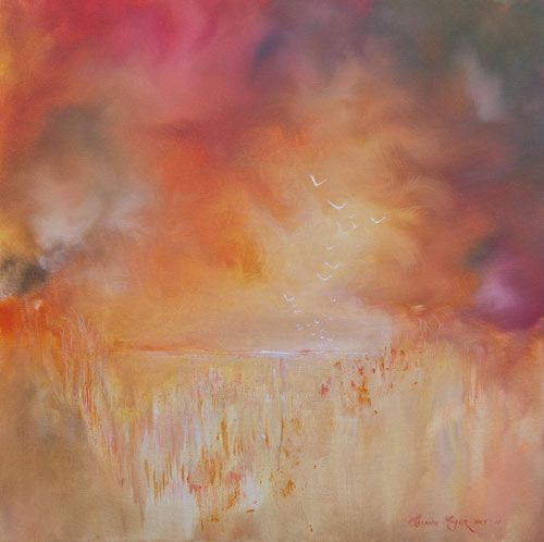 """""""Yonder"""" by Melanie Meyer from her Emergence Art Gallery in Cape Town"""