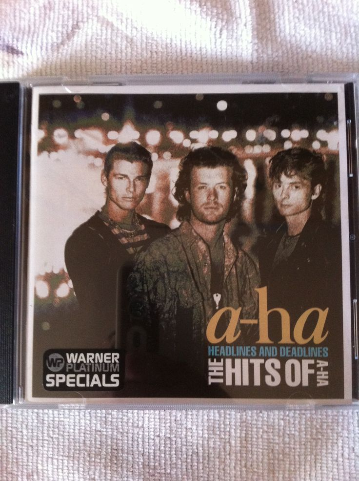 a-ha greatest hits CD