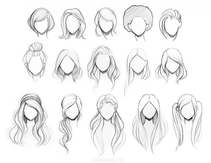 Los dibujos de los peinados fáciles de siete formas pueden mejorar su negocio |…