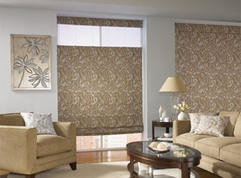 Bali Blinds Custom Tailored Roman Shades with Top Down/Bottom Up Option