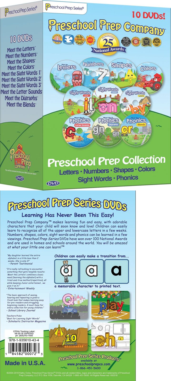Multiple Subjects Mixed Lots 165961: Preschool Prep Series ...
