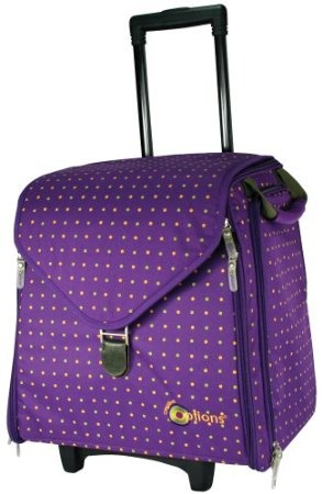 35 best scrapbooking rolling totes images on pinterest for Arts and crafts tote bags