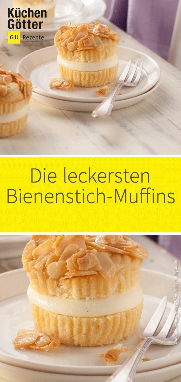 Wir lieben Bienenstich! Heute backen wir den beliebten Kuchen aber anders: A …   – Muffins Rezepte