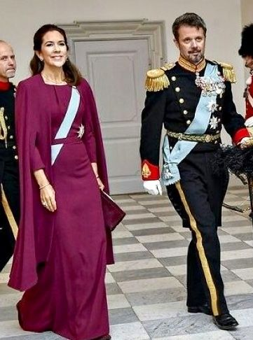 Of Mary Reuses Dress 03012018 Her From 3 Second Nytårskur Out qwfSBOt