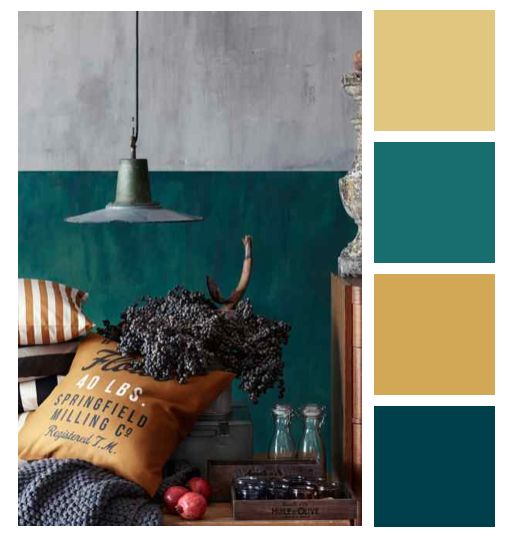 Interior design colors trends that will inspire you for Salon couleur bleu turquoise