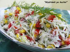 Kalarepa choć jest dość pospolitym warzywem to jednak niezbyt często króluje na naszych stołach.A przecież jest tak zdrowym i tanim warzywem.Należy również do warzyw nieuczulających.Ja skusiłam się...