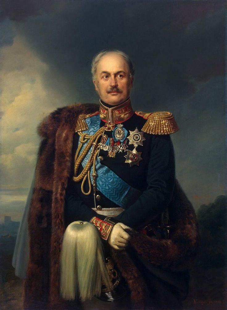Le comte Pavel Dmitrievich Kiselyov (1851, Musée de l'Ermitage, Saint-Pétersbourg) de Franz Kruger (1797-1857)