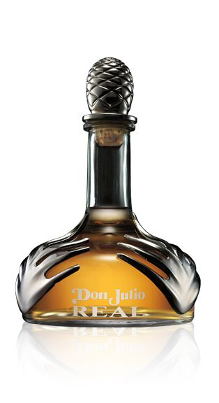 Artfully aged for three to five years in American white-oak barrels,  Tequila Don Julio REAL® is the crown jewel of the Tequila Don Julio portfolio. This tequila is a work of art in and of itself (no mixing by Art of Pour is required!).