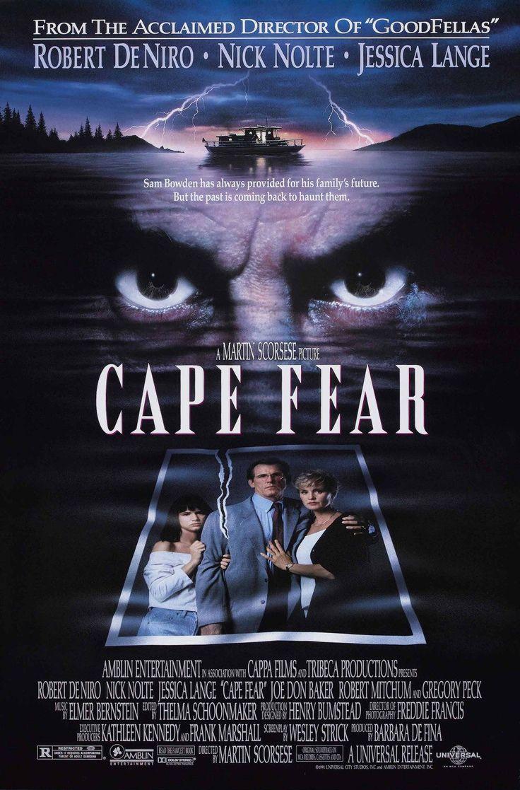"""""""Cape Fear"""" (1991) directed by Martin Scorsese, starring Robert De Niro, Nick Nolte"""