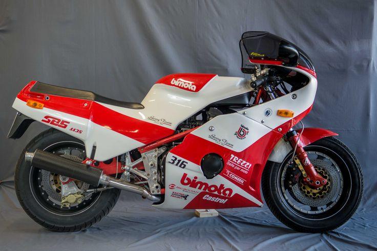 YB6, KB1, Tesi 1D, DB1 : des noms qui sonnent comme les voitures de James Bond… Pourtant, ce sont bien de motos qu'il s'agit : Bimota.