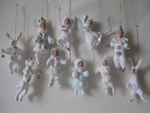 Куклы из ваты фото