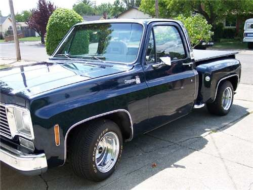Chevy Black Ops Truck For Sale