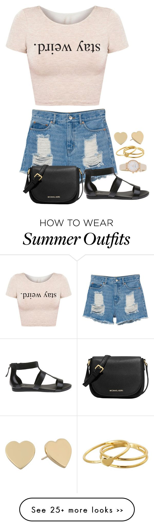 """""""summer outfit #1"""" by evelyn-rodriguez-3 on Polyvore"""