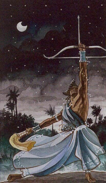 Lágrimas Dos Deuses Que Não Somos: A Estrela De Oxóssi
