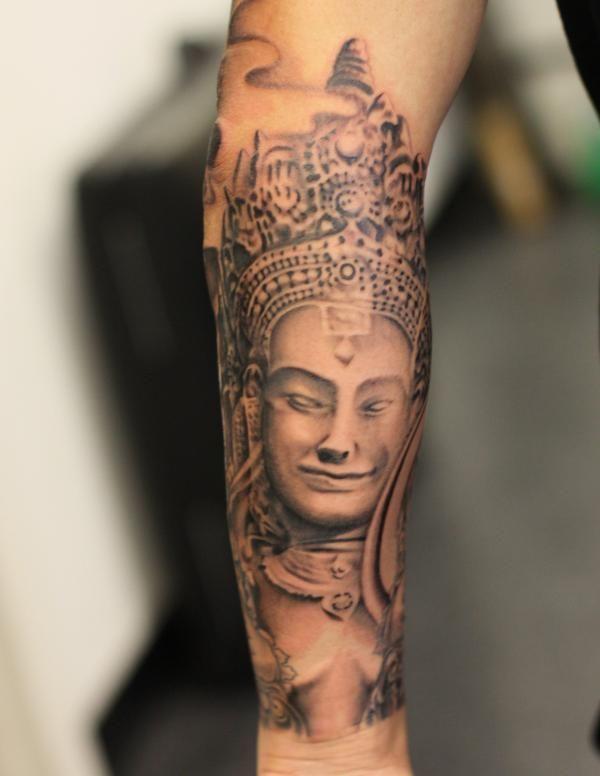 Cambodian Hanuman Tattoo Khmer Hanuman Tattoo D...
