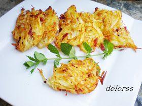 Blog de cuina de la dolorss: Ovillos de patata y jamón