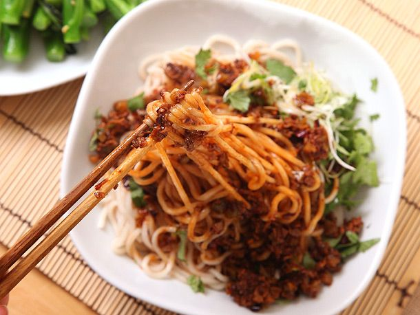 Recipe: Vegan Dan Dan Noodles | Feeding the vegetarians | Pinterest