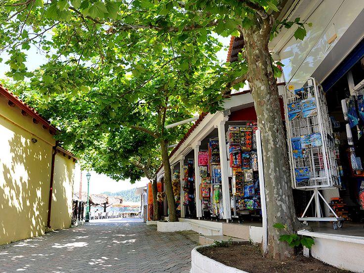 Shops at #Siviri #Halkidiki http://siviri-houses.com/ #shop #market #summer2016 #holidays