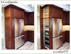 Best 25+ Refrigerator cabinet ideas on Pinterest | Kitchen ...