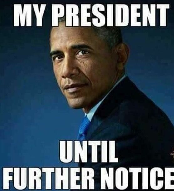 He might not always be there when we call, but Barack Obama is always on time.